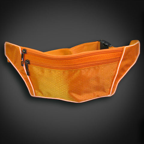 Electroluminescent Fanny Pack - Orange