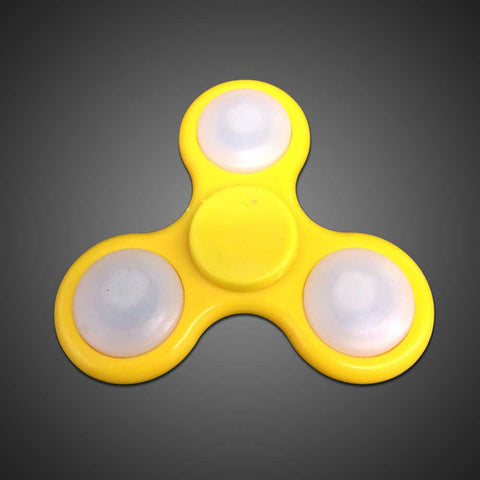 LED Fidget Spinner - Yellow