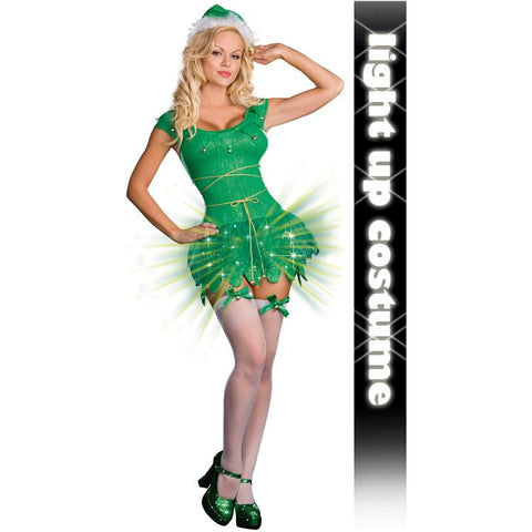 Electric Elf (Light Up) Adult Costume