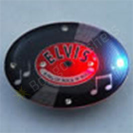 Elvis Record Pin