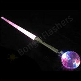Expandable Light Up Sword With Ball