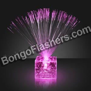 "5.5"" Light Up Small Pink Centerpieces"