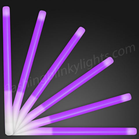 "9.4"" Purple Glow Stick Wands"