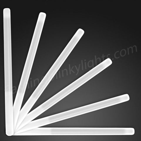 "9.4"" White Glow Stick Wands"