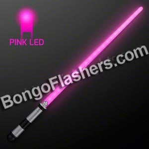 22 LED Pink Saber Space Sword