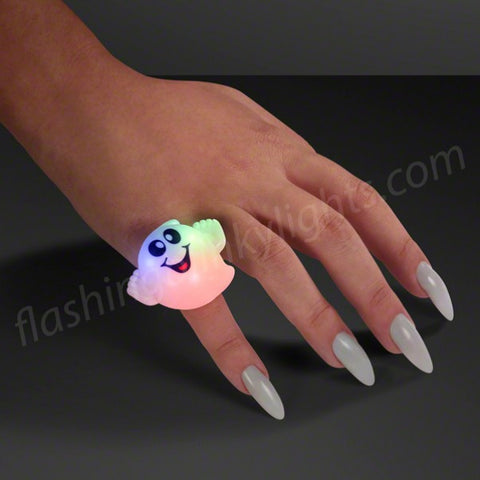 Blinky Friendly Ghost LED Soft Ring