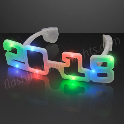 2018 Light Up New Years Party Shades