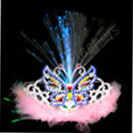 Fiber-Optic Tiara