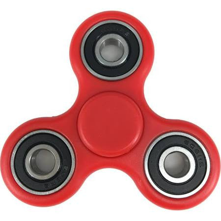 Tri-Fidget Hand Spinner - Red
