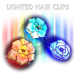 Flashing Hair Clips