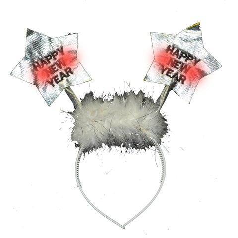 Flashing Happy New Year Star Boppers