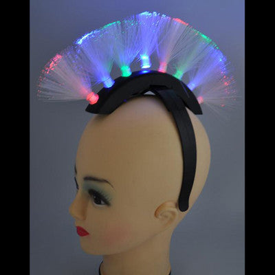 Flashing Mohawk Headband