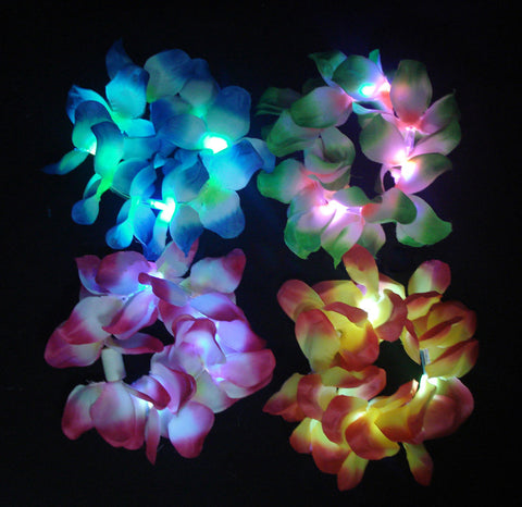 Flashing Lei Bracelets - Assorted Colors