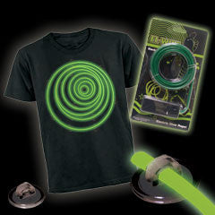 Green Lumilite Tron Costume Kit