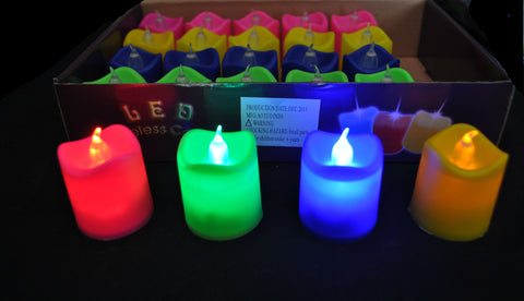 NEON LED CANDLES (1 PIECE)