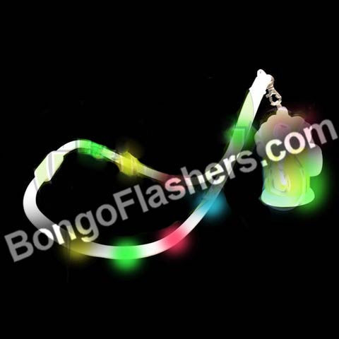 BEERMUG FLASHING LANYARD (1 PIECE)