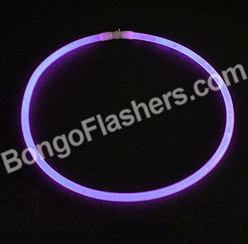 "22"" PREMIUM GLOW NECKLACE - PURPLE (50 PIECES)"