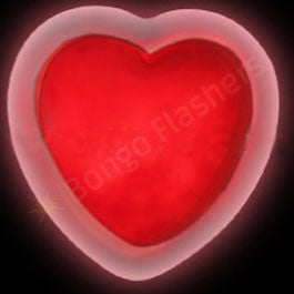 Glow Badge Heart