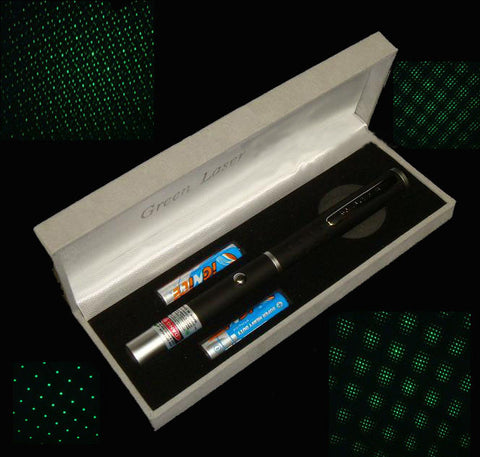 Green Laser Pointer (Star)