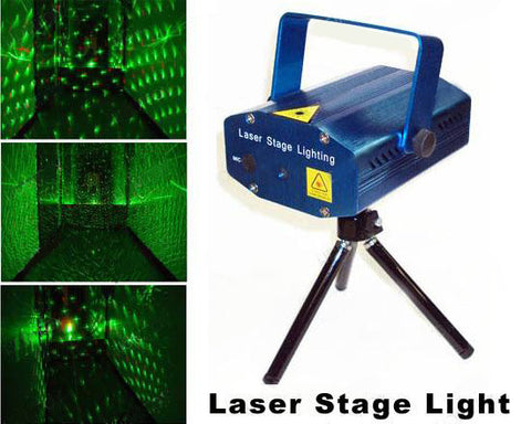 Green & Red Laser Fixture