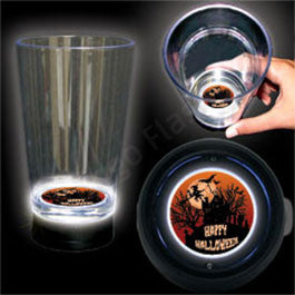 HAUNTED HOUSE BOTTOM LIT CUP