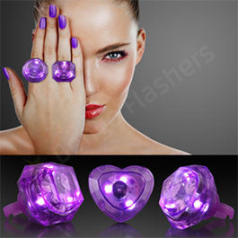 HUGE GEM LIGHTED RINGS