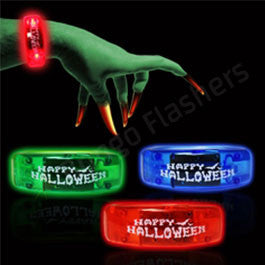 Halloween LED Bangle Bracelets