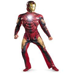 Iron Man 2 (2010) Movie - Iron Man Mark 6 Light Up Costume