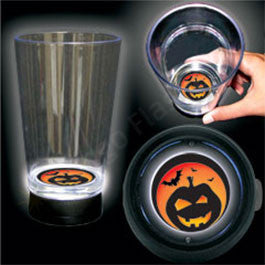 JACK O LANTERN BOTTOM LIT CUP