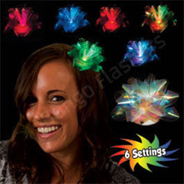 LED Fiber Optic Fascinator