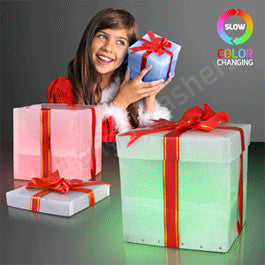 LED Gift Box Presents, Easy Gift Wrap