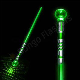 LED Green Wizard Sword