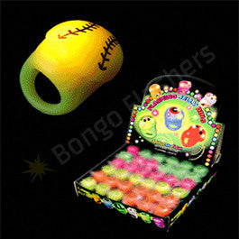 LED Jelly Baseball Ring Assorted Colors