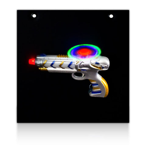 LED Helicopter Gun Display Board