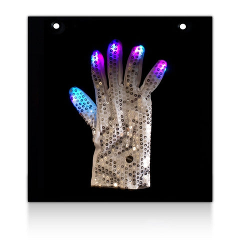 LED Sequin Glove Display Board