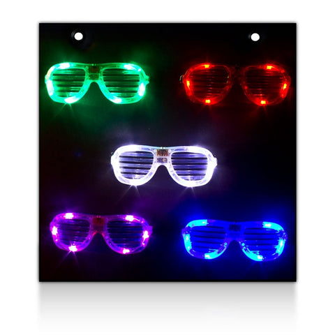 LED Sunglasses Display Board