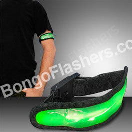 Green LED Arm Band for Night Runs