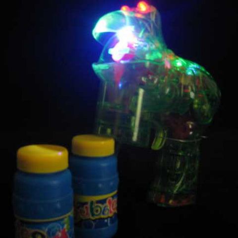 Flashing Frog Bubble Gun