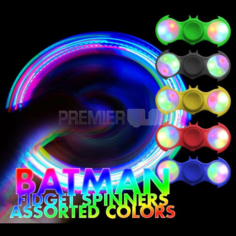 LED Batman Fidget Spinner - Assorted Colors