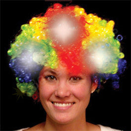 Rainbow Light Up Spirit Wig