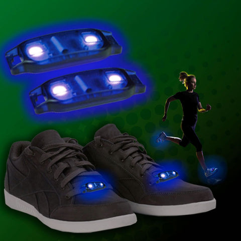 Blue LED Shoe Beatz - 1 Pair