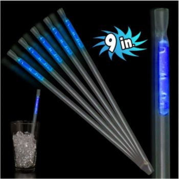 "Blue Motion 9"" Glow Straws - 25 Pack"