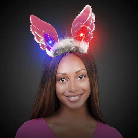LED Angel Wing Headband