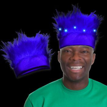 Blue LED Spirit Hair Headband