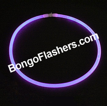 "22"" GENERIC GLOW NECKLACE - PURPLE (50 PIECES)"