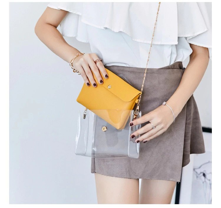 Transparent Shoulder Bags Women