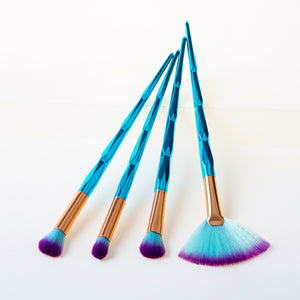 Diamond Makeup Brushes Set