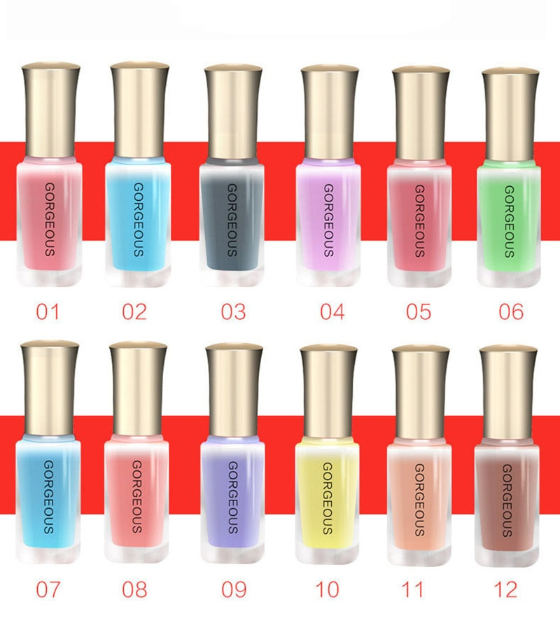 Translucent Jelly Nail Polish 10ML