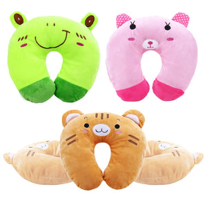 Cartoon Animals U Shaped Pillow Neck