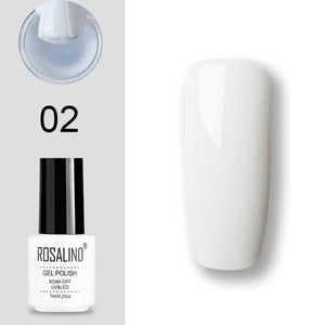 Set UV Vernis Semi Permanent Primer Top